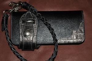 革 レザー 革製品 ロングウォレット ペンケース 長財布