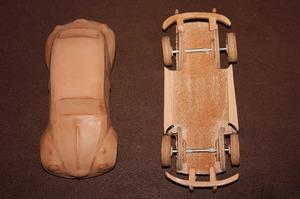 革の車 ヌメ革 サドルレザー