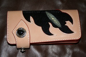 革製品 ロングウォレットスティングレイ