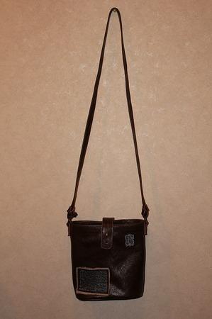 革 革製品 ワッペンポシェット バック ショルダー 鞄