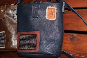 革 レザー 革製品 ワッペンバック 革鞄