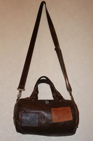 革 革製品 新作ワッペンバック 鞄