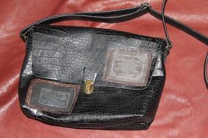 革製品 革鞄 メンズワッペンバック ショルダーバック