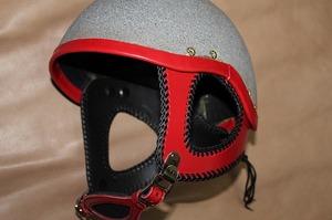 ヘルメットカスタマイズ レッグチャップス