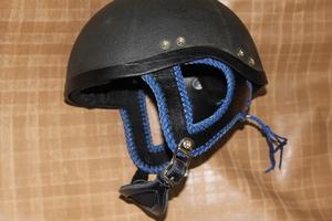 ヘルメットカスタマイズ ダブルステッチ
