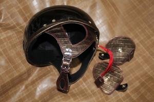 ヘルメットカスタマイズ 耳あて