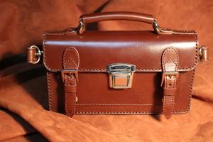 学生鞄型ウォレット