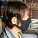 フェイスマスク(ウエットスーツ素材)